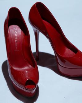 Casadei Red High Heels