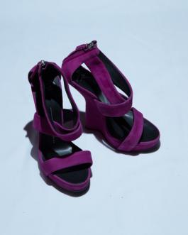 Giuseppe Zanotti Pink Heel-less