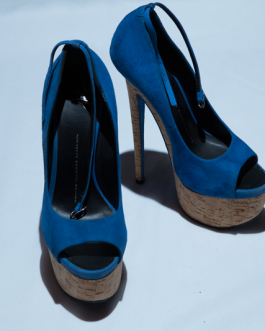 Giuseppe Zanotti Blue High Heels